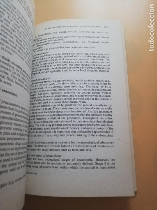 Libros de segunda mano: INTRODUCTION TO RESEARCH IN MEDICAL SCIENCES. A. CUSCHIERI. P.R. BAKER.1977. PAG. 216. - Foto 6 - 245370820