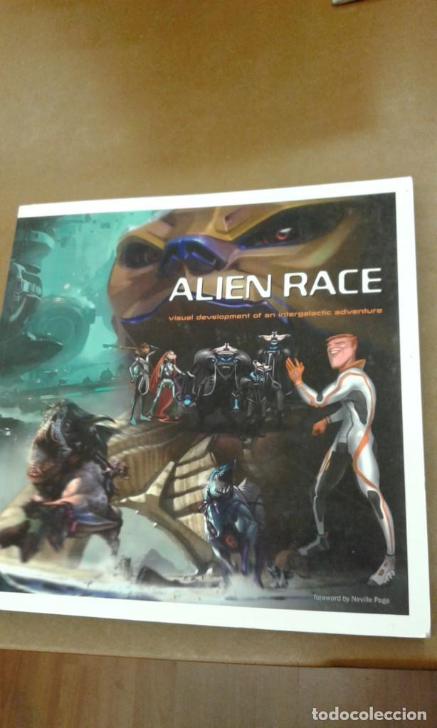 ALIEN RACE. VISUAL DEVELOPMENT OF INTERGALACTIC ADVENTURE (Libros de Segunda Mano - Otros Idiomas)