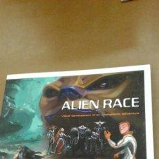 Libros de segunda mano: ALIEN RACE. VISUAL DEVELOPMENT OF INTERGALACTIC ADVENTURE. Lote 245387410