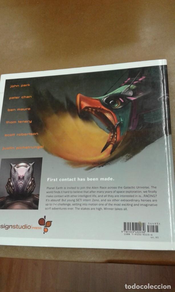 Libros de segunda mano: Alien Race. visual development of intergalactic adventure - Foto 2 - 245387410