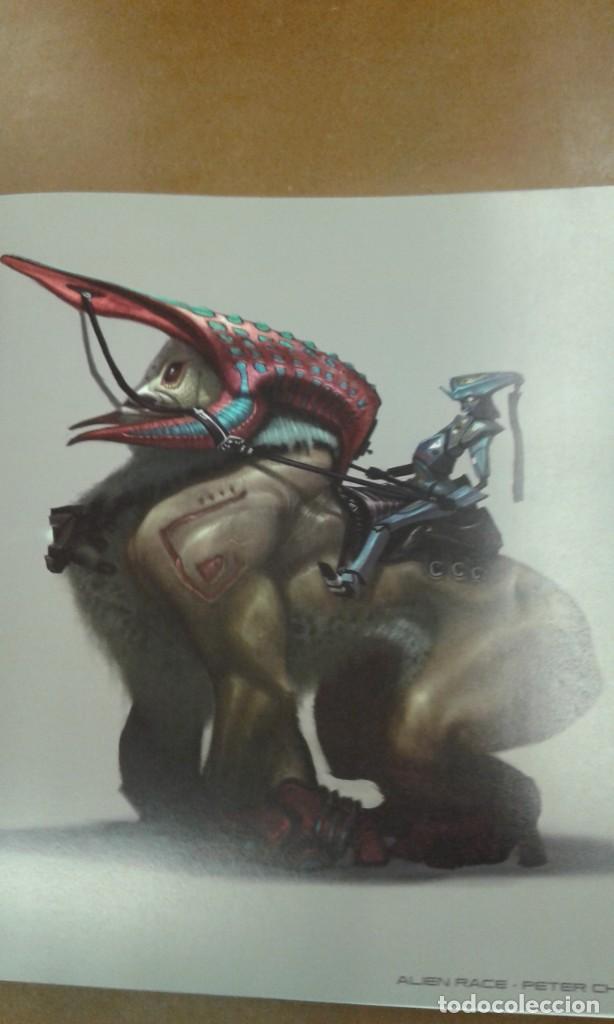 Libros de segunda mano: Alien Race. visual development of intergalactic adventure - Foto 6 - 245387410