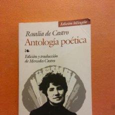 Libri di seconda mano: ANTOLOGÍA POÉTICA. ROSALÍA DE CASTRO. EDITORIAL EDAF. Lote 286292438