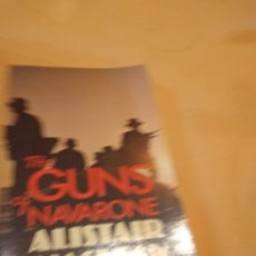 Libros de segunda mano: M-29 LIBRO THE GUNS OF NAVARRONE ALISTAIR MACLEAN. Lote 252211185