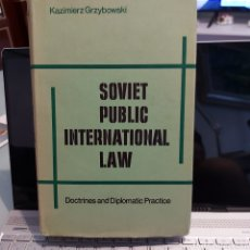 Libros de segunda mano: SOVIET PUBLIC INTERNATIONAL LAW. Lote 253064050
