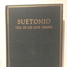 Libros de segunda mano: C. SUETONIO TRANQUILO AÑO: 1964   EDITORIAL: 1ª EDICIÓN EDICIONES ALMA MATER. Lote 253292725