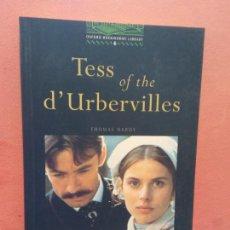 Livros em segunda mão: TESS OF THE D'URBERVILLES. THOMAS HARDY. OXFORD BOOKWORMS LIBRARY. Lote 253612190