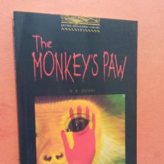 Livros em segunda mão: THE MONKEY'S PAW. W.W. JACOBS. OXFORD BOOKWORMS LIBRARY. Lote 253612250