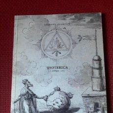 Libros de segunda mano: ESOTERICA. BERNARD QUARITCH. EDICION EN INGLES, ALEMAN, ITALIANO.. Lote 254119275