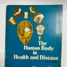 Libros de segunda mano: THE HUMAN BODY IN HEALTH AND DISEASE. FOURTH EDITION MEMMLER/WOOD. 1977. LIPINCOTT. EN INGLES. Lote 254873890