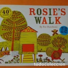 Libros de segunda mano: ROSIES WALK PRECIOSÍSIMO LIBRO EN INGLES PARA NIÑOS QUE ESTAN EMPEZANDO A APRENDER INGLES. Lote 254875990