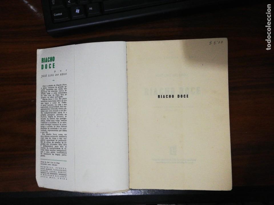 Libros de segunda mano: RIACHO DOCE. JOSÉ LINS DO REGO (PORTUGUÉS) - Foto 2 - 255010135