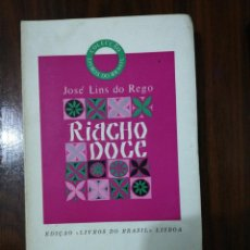Libros de segunda mano: RIACHO DOCE. JOSÉ LINS DO REGO (PORTUGUÉS). Lote 255010135