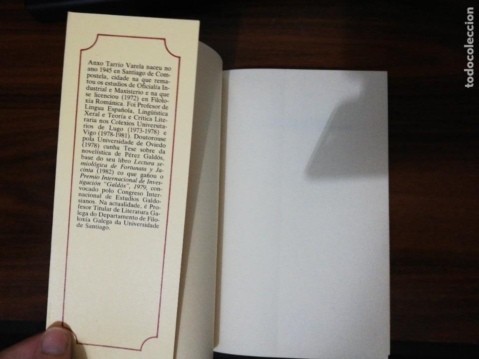 Libros de segunda mano: DE LETRAS E DE SIGNOS. ANXO TARRÍO VARELA. 1987 - Foto 2 - 255010500