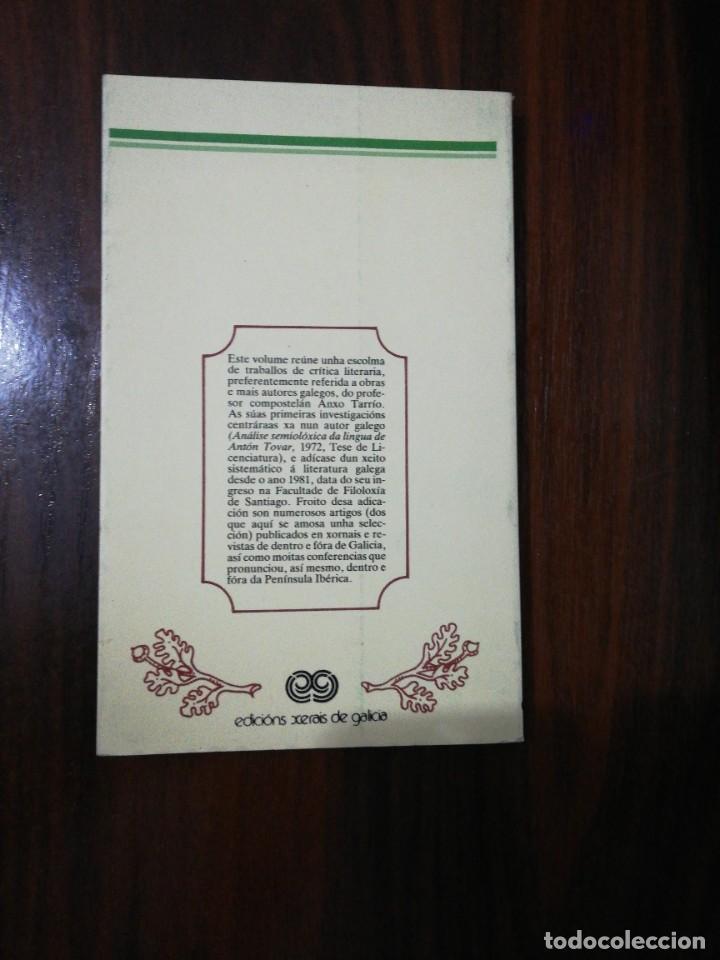 Libros de segunda mano: DE LETRAS E DE SIGNOS. ANXO TARRÍO VARELA. 1987 - Foto 5 - 255010500