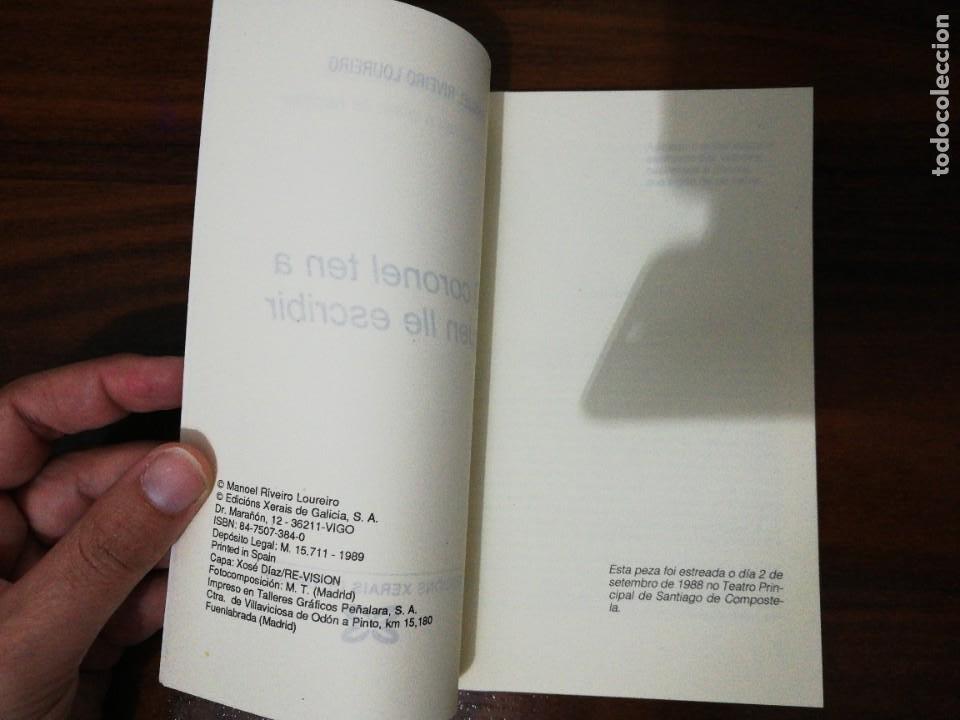 Libros de segunda mano: O CORONEL TEN A QUEN LLE ESCRIBIR. MANOEL RIVEIRO LOUREIRO. 1989 - Foto 2 - 255011495