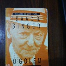 Libros de segunda mano: O GOLEM. ISAAC B. SINGER (EN GALLEGO). XERAIS. 1989. Lote 255012085