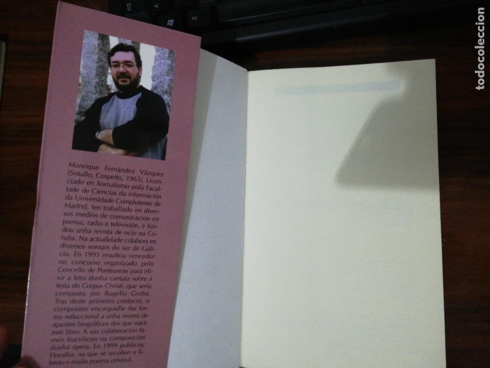 Libros de segunda mano: ROGELIO GROBA, MEDITACIÓNS EN BRANCO E NEGRO. MANRIQUE FERNÁNDEZ. (EN GALLEGO). XERAIS. 1999 - Foto 2 - 255012650