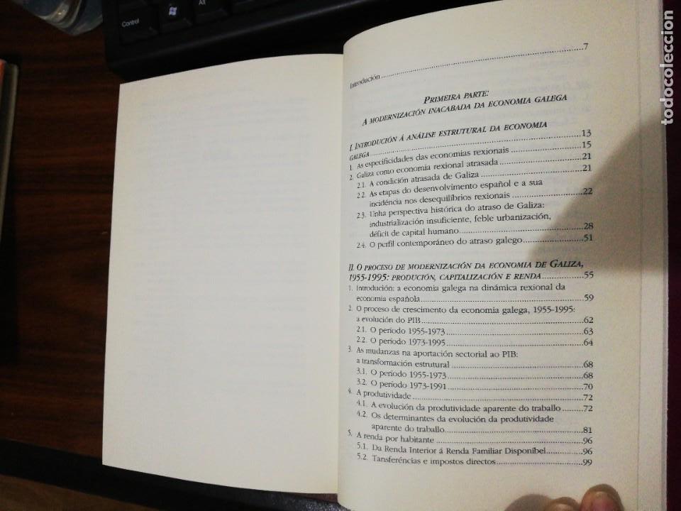 Libros de segunda mano: ESTRUTURA ECONÓMICA DE GALIZA. XOAQUÍN FDEZ LEICEAGA / EDELMIRO LÓPEZ IGLESIAS. LAIOVENTO. 2000 - Foto 3 - 255013695