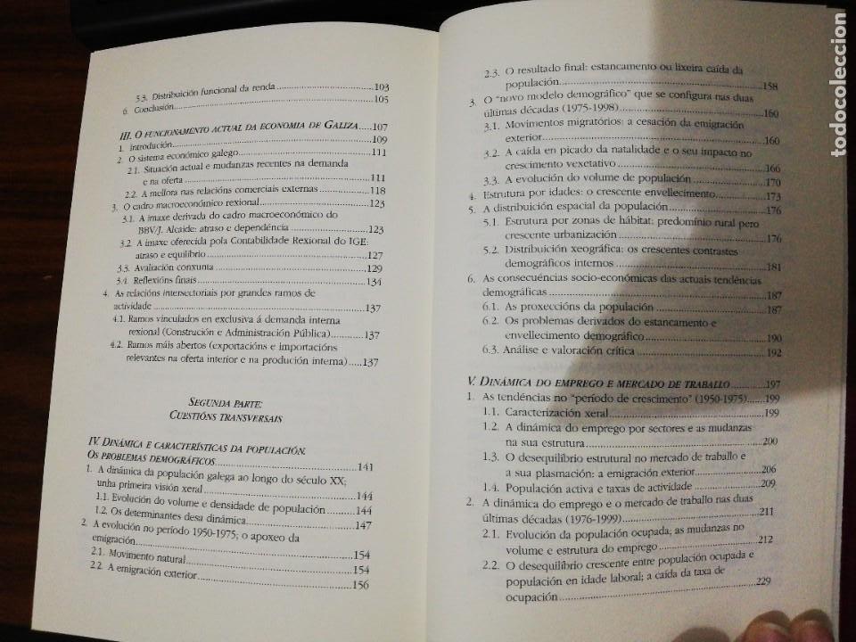Libros de segunda mano: ESTRUTURA ECONÓMICA DE GALIZA. XOAQUÍN FDEZ LEICEAGA / EDELMIRO LÓPEZ IGLESIAS. LAIOVENTO. 2000 - Foto 4 - 255013695