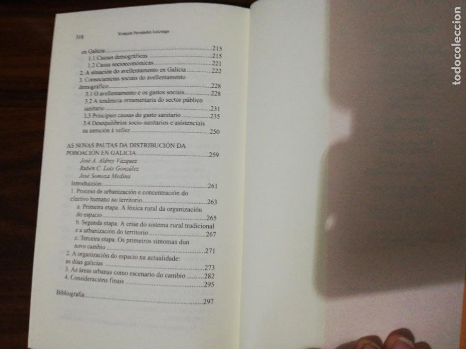 Libros de segunda mano: AVELLENTAMENTO DEMOGRÁFICO E CONSECUENCIAS SOCIOECONÓMICAS. XOAQUÍN FDEZ LEICEAGA. 2000 - Foto 6 - 255014260