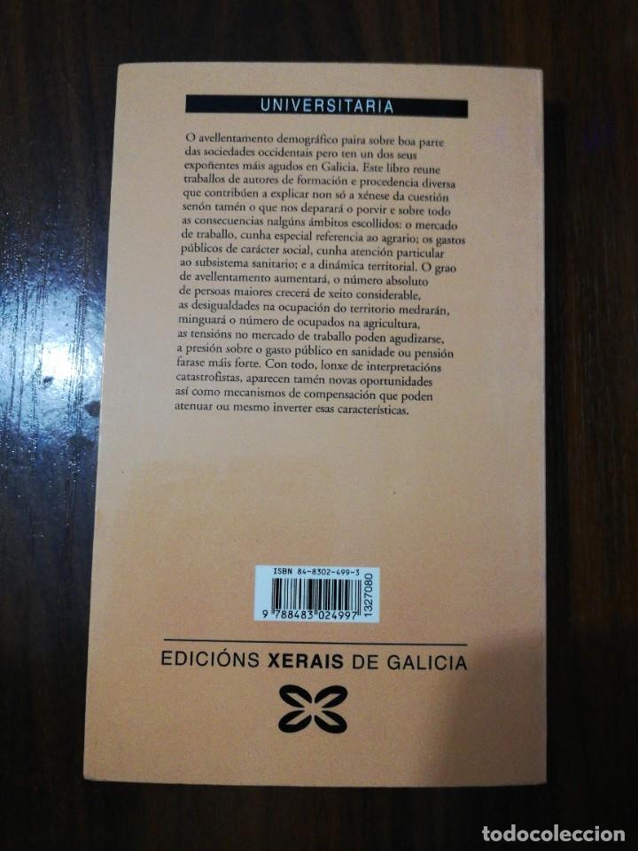 Libros de segunda mano: AVELLENTAMENTO DEMOGRÁFICO E CONSECUENCIAS SOCIOECONÓMICAS. XOAQUÍN FDEZ LEICEAGA. 2000 - Foto 8 - 255014260