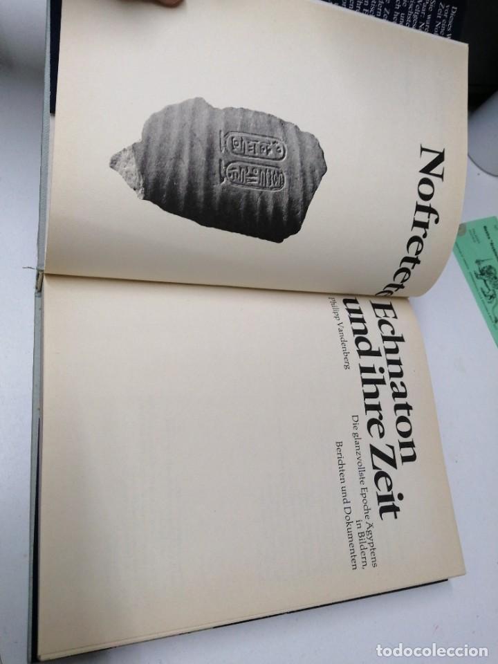Libros de segunda mano: Libro NOFRETETE ECHNATON UND IHRE ZEIT Egipto Egipcios - Foto 2 - 255018540