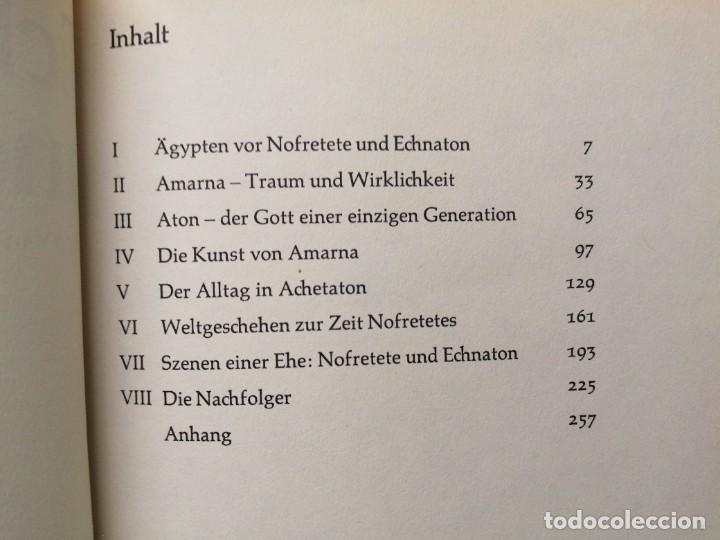 Libros de segunda mano: Libro NOFRETETE ECHNATON UND IHRE ZEIT Egipto Egipcios - Foto 4 - 255018540