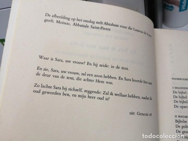 Libros de segunda mano: Libro EN SARA IN HAAR TENT LACHTE Patriarchaat en verzet in bijbelverhalen - Foto 3 - 255020010