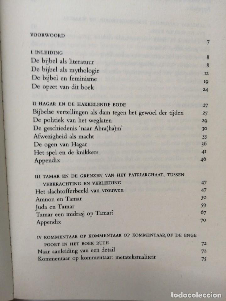 Libros de segunda mano: Libro EN SARA IN HAAR TENT LACHTE Patriarchaat en verzet in bijbelverhalen - Foto 4 - 255020010