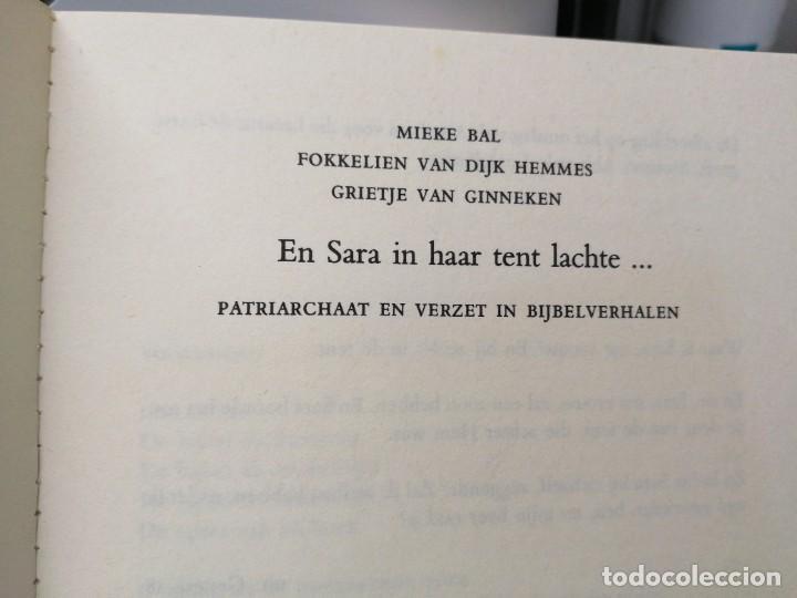 Libros de segunda mano: Libro EN SARA IN HAAR TENT LACHTE Patriarchaat en verzet in bijbelverhalen - Foto 6 - 255020010
