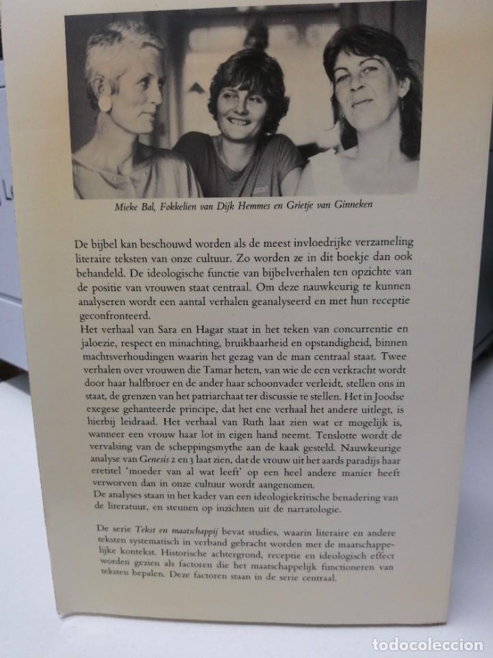 Libros de segunda mano: Libro EN SARA IN HAAR TENT LACHTE Patriarchaat en verzet in bijbelverhalen - Foto 8 - 255020010