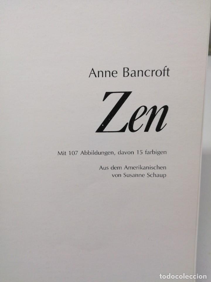 Libros de segunda mano: Libro ANNE BANCROFT ZEN KOSEL budismo - Foto 2 - 255020850