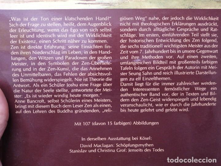 Libros de segunda mano: Libro ANNE BANCROFT ZEN KOSEL budismo - Foto 5 - 255020850