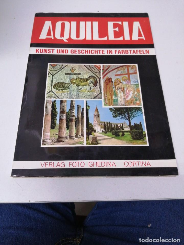 LIBRO AQUILEA KUNST UND GESCHICHTE IN FARBTAFELN VERLAG FOTO GHEDINA CORTINA (Libros de Segunda Mano - Otros Idiomas)