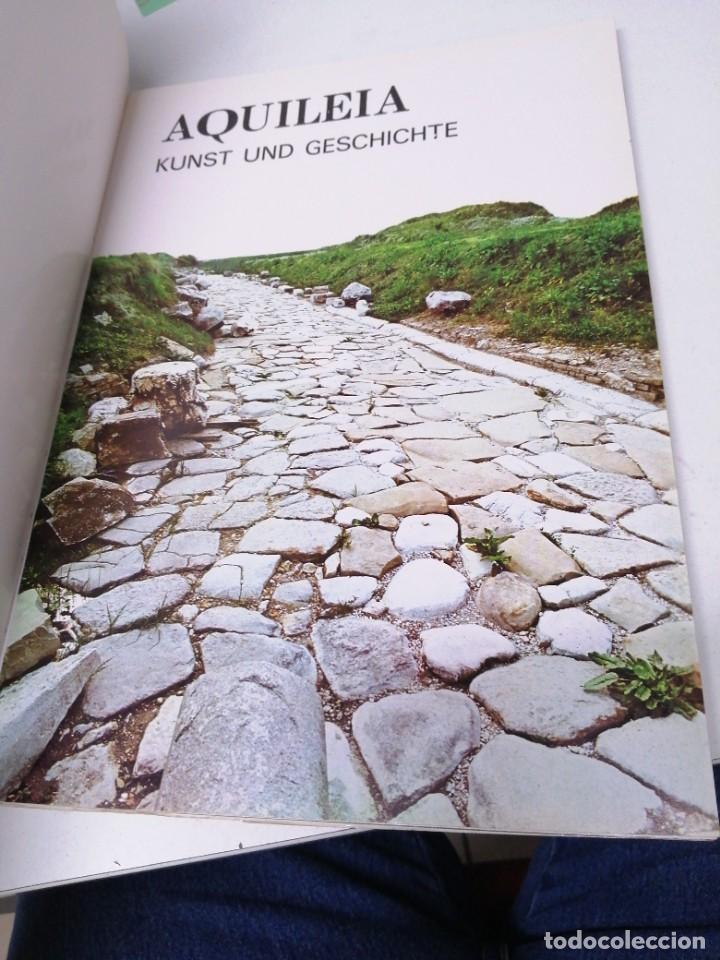 Libros de segunda mano: Libro AQUILEA Kunst und geschichte in farbtafeln Verlag foto ghedina cortina - Foto 2 - 255021130