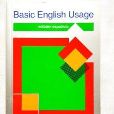 Libros de segunda mano: SWAN: BASIC ENGLISH USAGE - EDICIÓN ESPAÑOLA - OXFORD UNIVERSITY PRESS. Lote 256025770