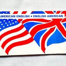 Libros de segunda mano: DICCIONARIO COMPARATIVA INGLÉS BRITÁNICO E INGLÉS AMERICANO. Lote 256026580