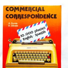 Libros de segunda mano: COMMERCIAL CORRESPONDENCE - GUÍA DE CORRESPONDENCIA COMERCIAL. Lote 256028500