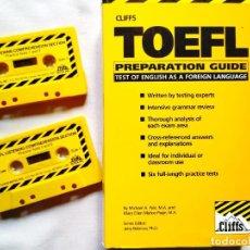 Libros de segunda mano: TOEFL - PREPARATION GUIDE. Lote 256029615