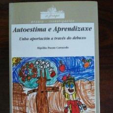 Libros de segunda mano: AUTOESTIMA E APRENDIZAXE. UNHA APORTACIÓN A TRAVÉS DO DEBUXO. HIPÓLITO PUENTE CARRACEDO. 1997. Lote 256055050