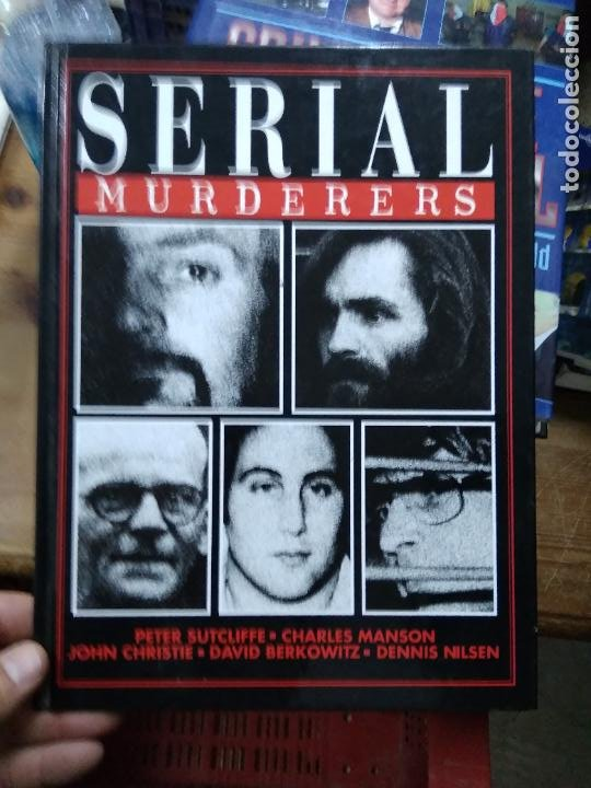 SERIAL MURDERERS, VARIOS AUTORES. EN INGLÉS. EP-820-26 (Libros de Segunda Mano - Otros Idiomas)