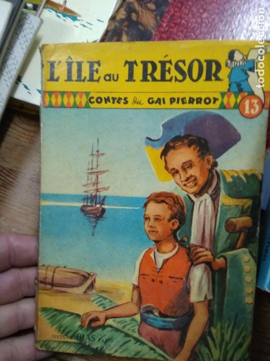 L'ILLE AU TRÉSOR, GAI PIERROT. EN FRANCÉS. L.17025-349 (Libros de Segunda Mano - Otros Idiomas)
