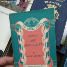 Libros de segunda mano: SENSE AND SENSIBILITY, JANE AUSTEN. EN INGLÉS. L.2604-1452. Lote 257521005