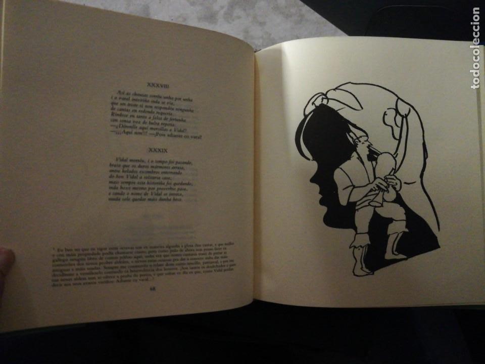 Libros de segunda mano: Rosalía cos rapaces. Escolma comentada por X. Filgueira Valverde. 1985 - Foto 6 - 257723175