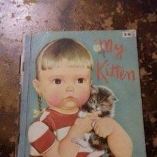 Libros de segunda mano: A LITTLE GOLDEN BOOK: MY KITTEN 2/6. Lote 257732735