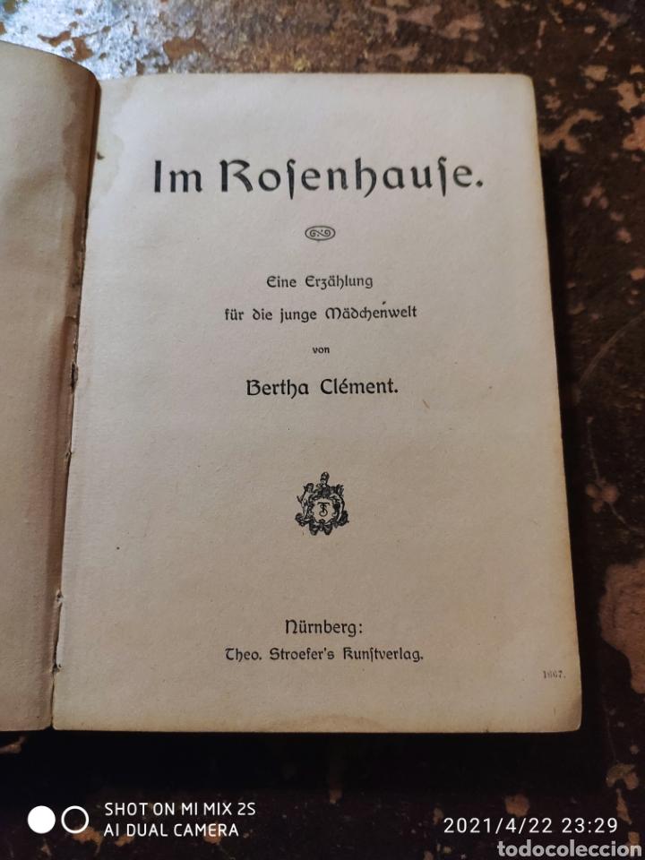 Libros de segunda mano: IM ROSENHAUS VON BERTHA CLEMENT - Foto 2 - 257736140