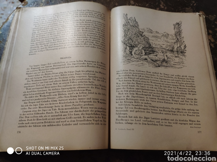 Libros de segunda mano: BAYERISCHES LESEBUCH 5. UND 6. SCHULJAHR (1948) - Foto 4 - 257736845