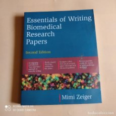Libros de segunda mano: ESSENTIALS OF WRITING BIOMEDICAL RESEARCH PAPERS. MIMI ZEIGER. 2000. 440 PAGS.. Lote 261136910