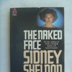 Libros de segunda mano: SIDNEY SHELDON : THE NAKED FACE, 1983 ..... REINO UNIDO . ¡ EN INGLES !!. Lote 262020835