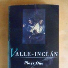 Libros de segunda mano: VALLE-INCLAN - DIVINE WORDS-BOHEMIAN LIGHTS-SILVER FACE - METHUEN - 1993 * EN INGLES. Lote 262781820